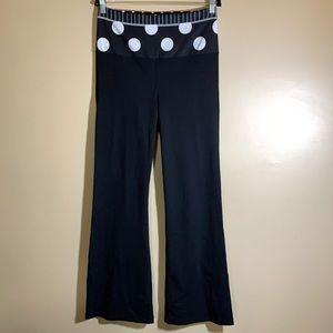 Lululemon Groove Down Black & White Athletic Pants